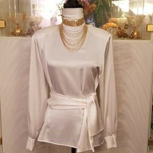 JH Collectibles T-Neck Blouse